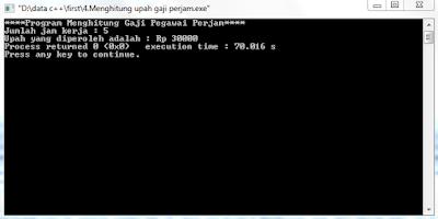 pemrograman dalam bahasa C