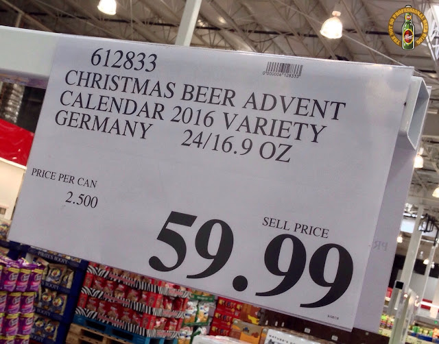Costco Craft Beer Advent Calendar