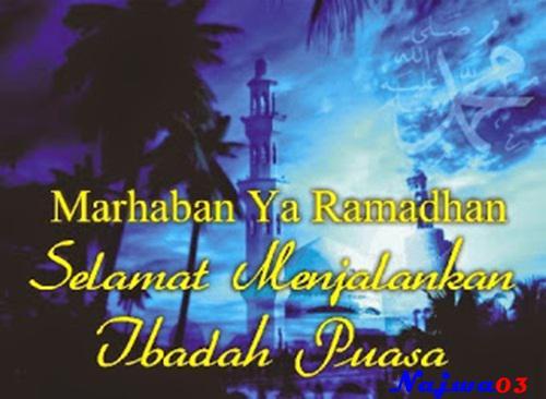 Ucapan Selamat Menyambut Bulan Suci Ramadhan