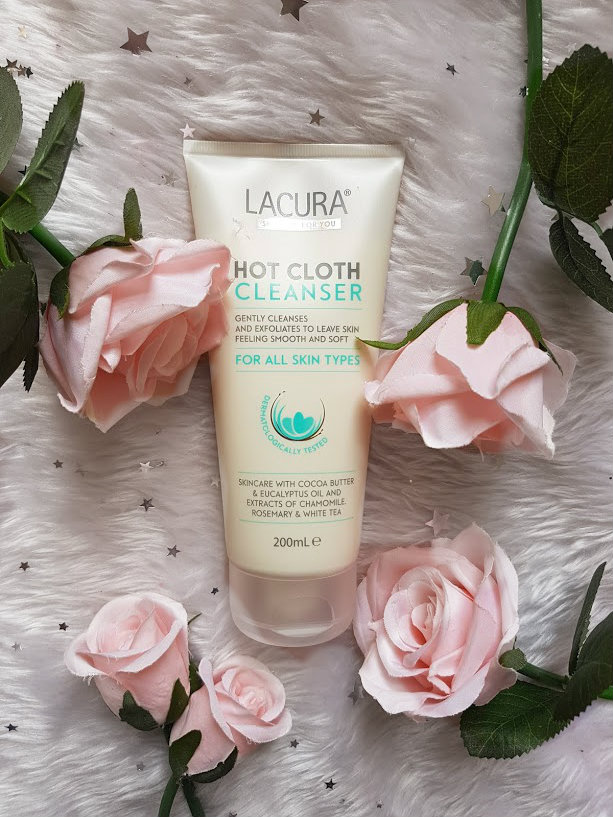 lacura hot cloth cleanser
