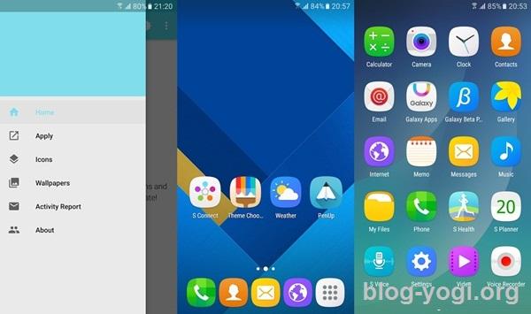 Theme Galaxy S7 v1.2.0 Apk Terbaru