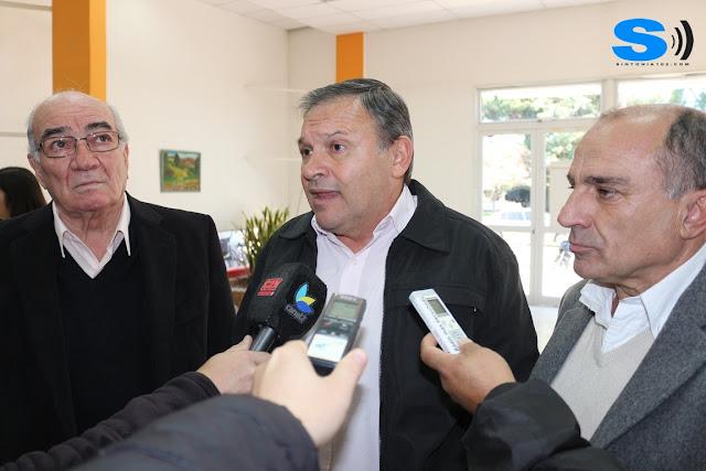 La Provincia trajo dinero para planes y al municipio