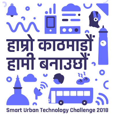 Smart Urban Technology Challenge 2018-- Kathmandu Challenge logo