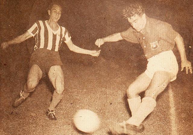 Chile y Paraguay en Campeonato Sudamericano de 1946