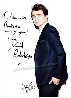 Daniel Radcliffe Autentyczny autograf, autograph, Harry Potter
