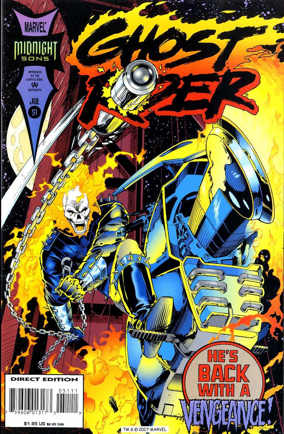Ghost Rider (1990) 51 Page 1