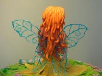 fondant fairy cake gelatine wings