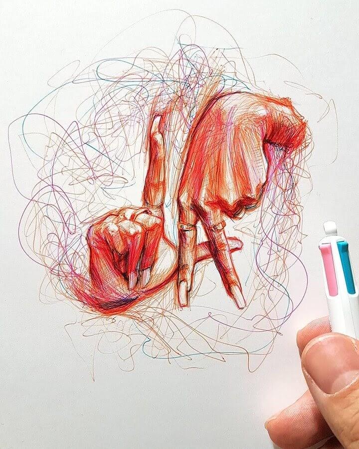 07-Alberto-Russo-Scribble-Drawings-www-designstack-co