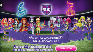 MLP Equestria Girls Friendship Games Sporty Style Deluxe Doll