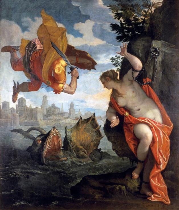 Por Júpiter Perseo Y Andrómeda
