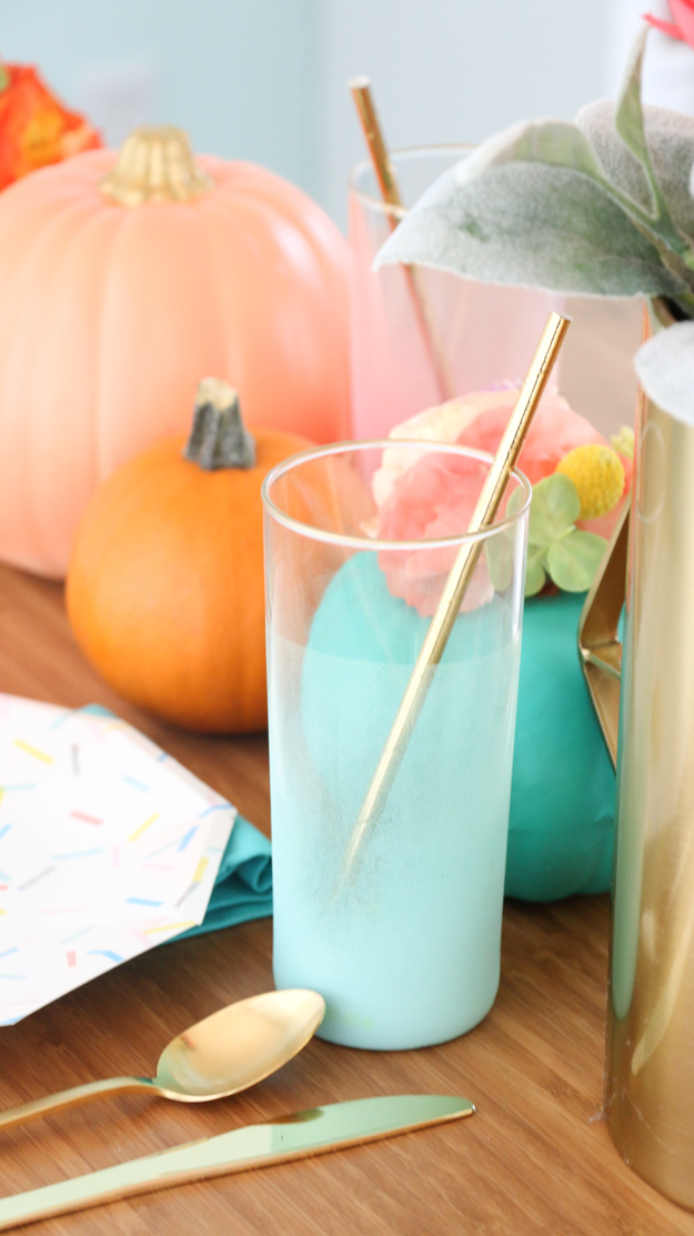 How to throw a colorful halloween party with DIY decorations and custom wall art - DIY Party decorations - Halloween decor - craft - Pumpkin Centerpieces - target fall home decor - DIY Wall art