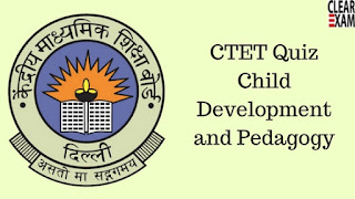 CTET Exam Quiz on CDP