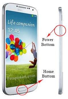 Cara Mengambil Screenshot Samsung Galaxy S4