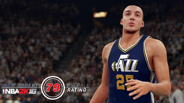 NBA 2k16 Screenshot Rudy Gobert - HoopsVilla