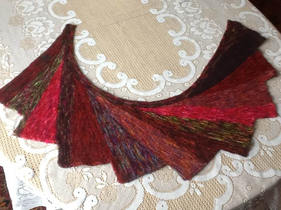 Not my father's socks: Wingspan Shawl