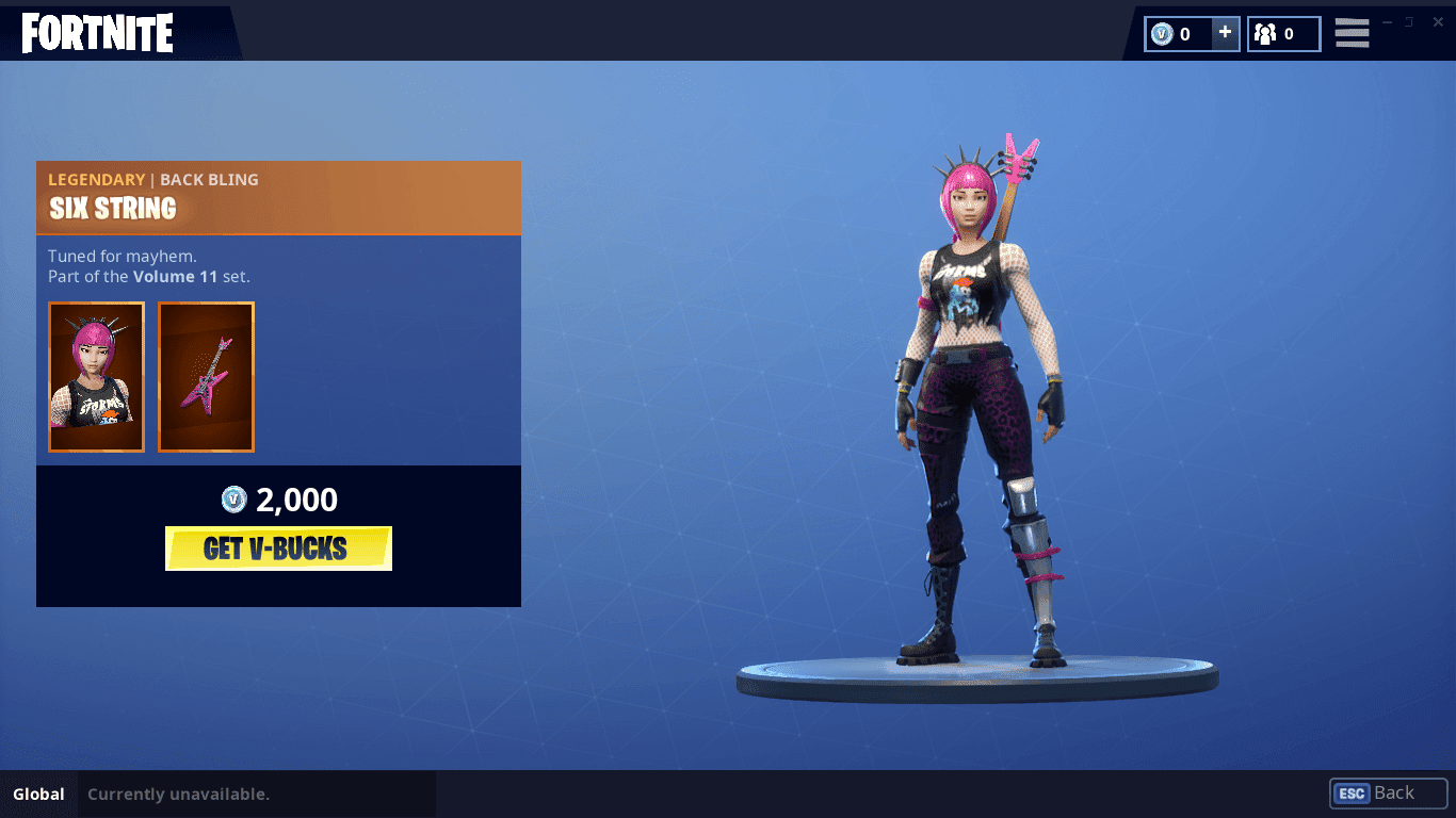 Fortnite Brings Back Power Chord Skin