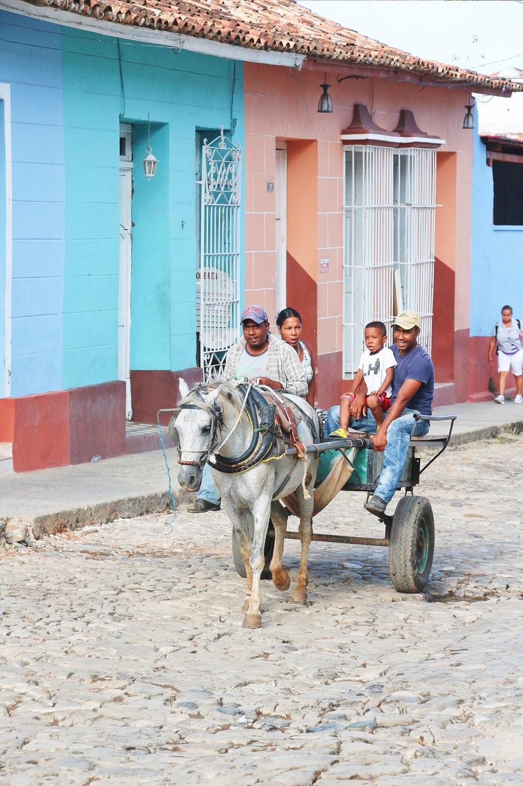 Calèche dans Trinidad - Cuba