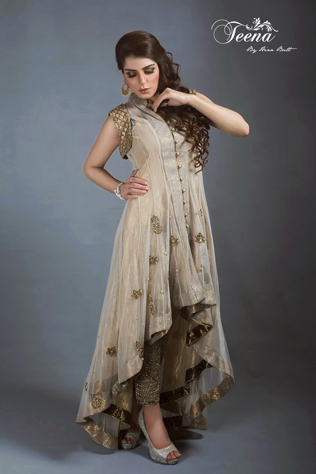 Stylish And Exclusive Designs Of Eid Dresses For Girls By ...