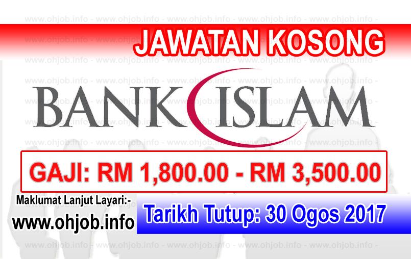 Jawatan Kerja Kosong Bank Islam logo www.ohjob.info ogos 2017