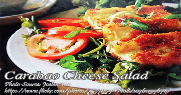 Carabao Cheese Salad Recipe