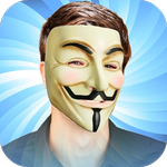ရုိက္ထားတဲ႕ဓာတ္ပုံေတြကုိ Hacker မ်က္နွာဖုံး ဒီဇုိင္းမ်ားစြာနဲ႕ အစားထုိး ျပဳျပင္ႏုိင္မယ္႕ Anonymous Mask Photo Stickers App