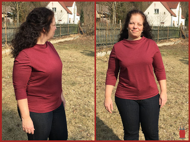 Stella von Pattydoo Shirt mit Stehkragen nähen