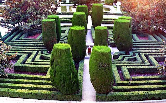 Informações sobre os Jardins de Sabatini