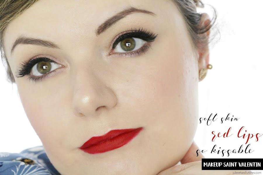 Makeup Saint Valentin ! julieetsesfutilites.com