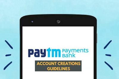 Create A Savings Account On Paytm Payments Bank