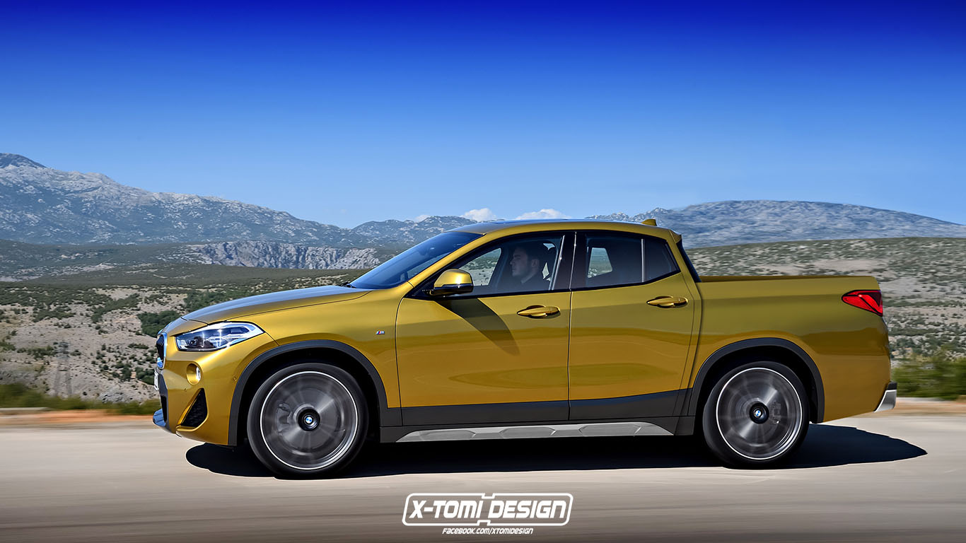 The Idea Of A BMW X2 Pickup May Not Be So Ridiculous