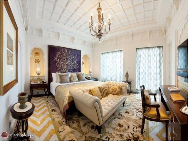 Gypsum Bedroom Designs 20