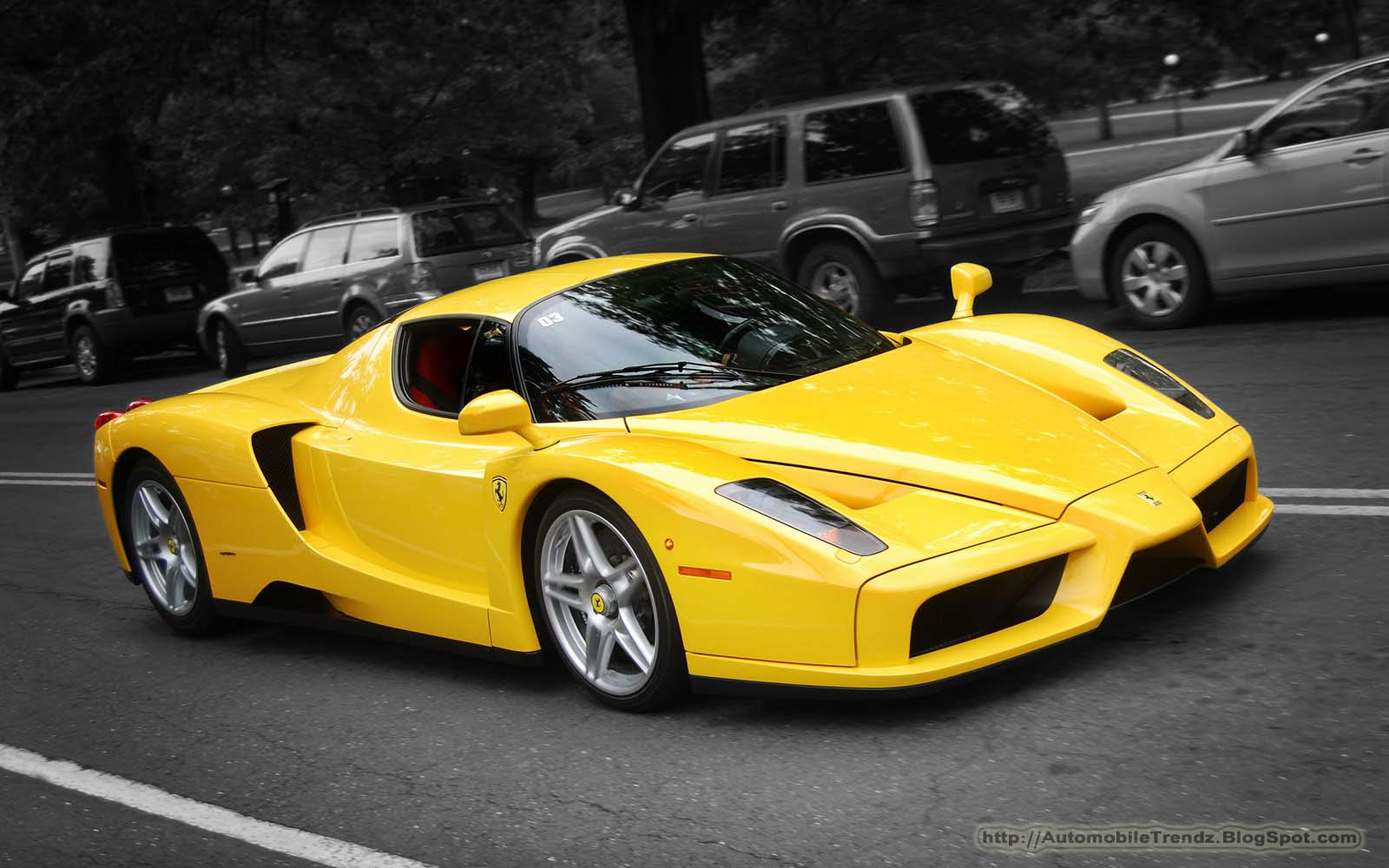 Automobile Trendz: Ferrari Enzo Wallpaper