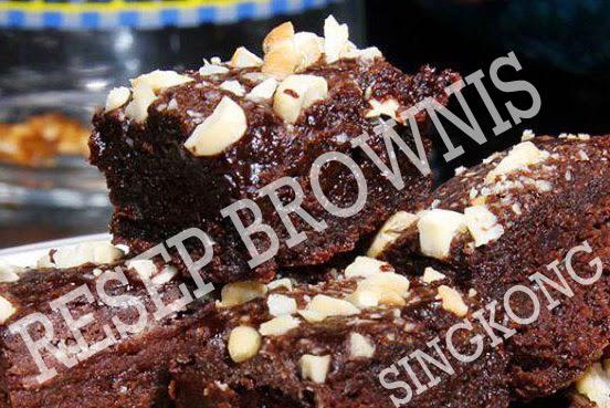 Resep Brownis Singkong