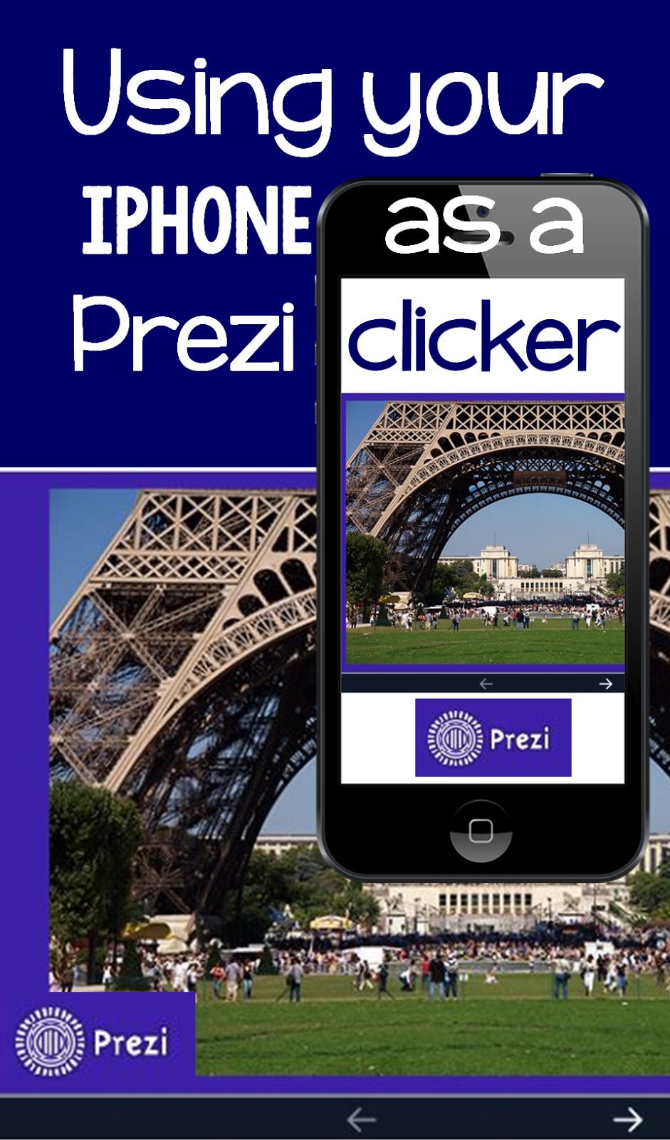 iphone prezi clicker