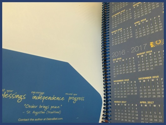 Homeschool planner from Apologia