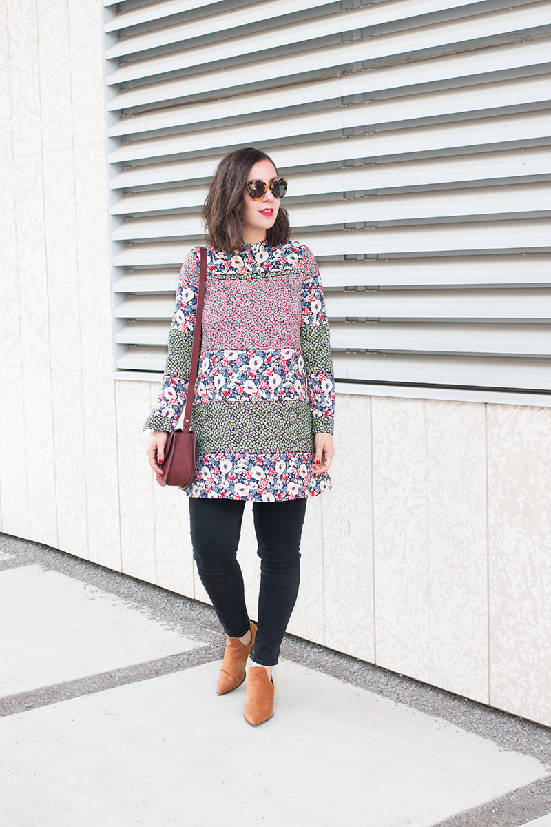 How to style a boho tunic