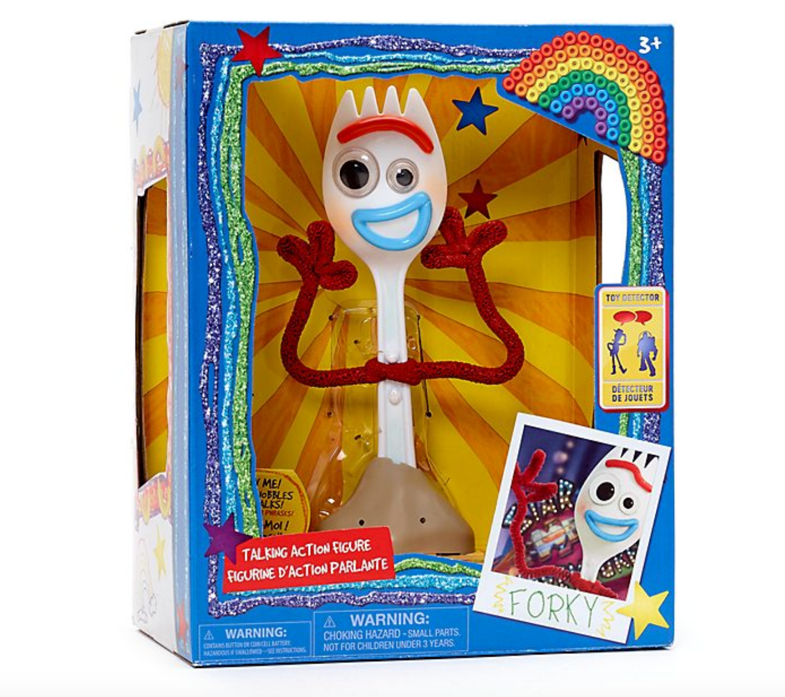 disney store talking forky action figure