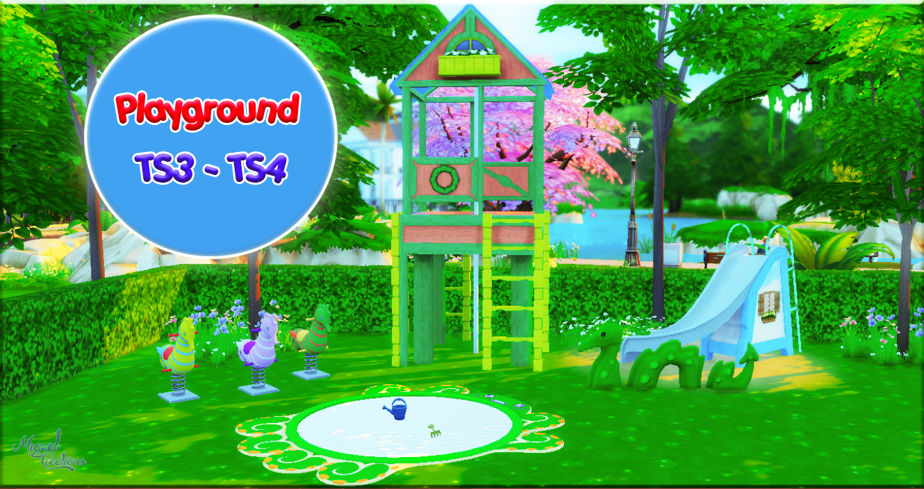 Miguel Creations TS4: Playground (TS3 - TS4)