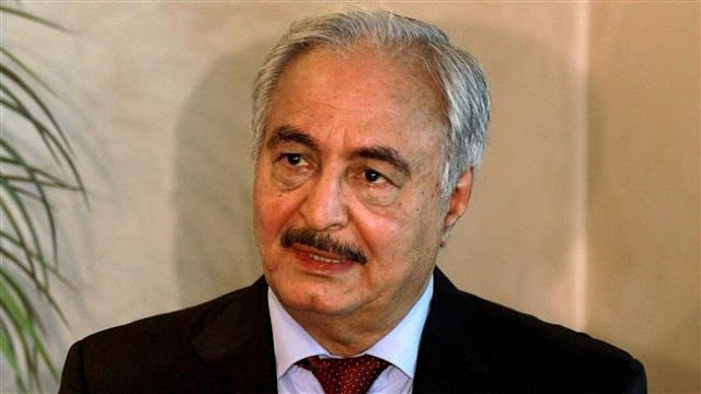 Libyan General Khalifa Haftar slams Europe, US for backing terror