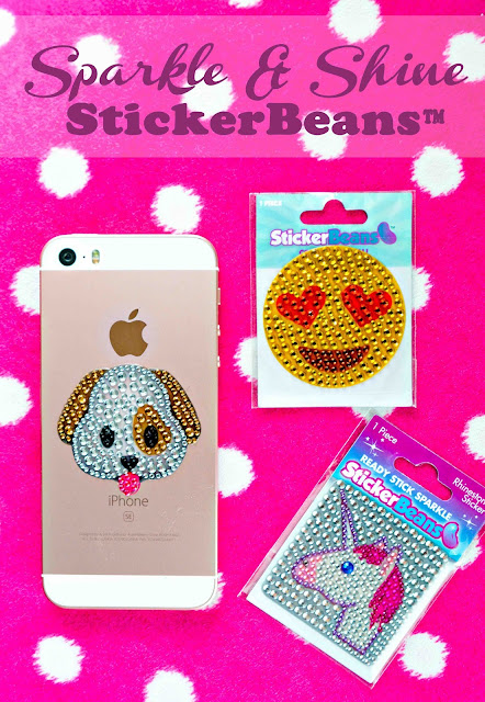 StickerBeans Rhinestone Stickers
