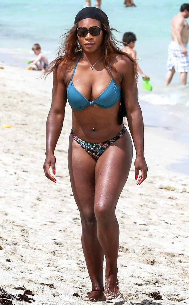 Think, Serena williams bikini