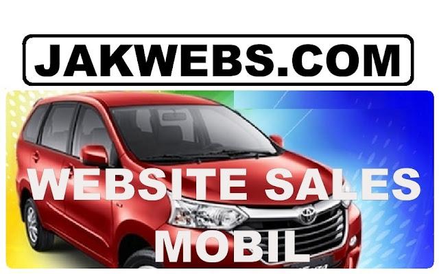 jasa pembuatan website sales mobil, jasa pembuatan website otomotif, website sales mobil