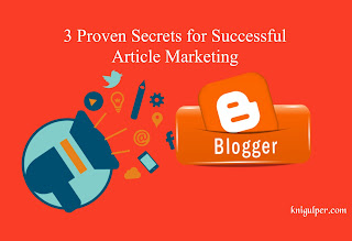 Secrets of Article Marketing