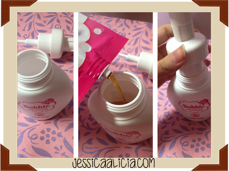 Review : Etude House Bubble Hair Coloring #2 Dark Brown by Jessica Alicia