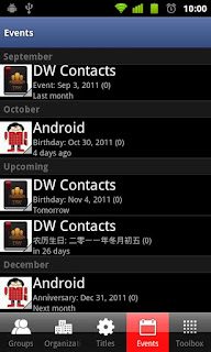 DW Contacts & Phone & Dialer Pro - 5
