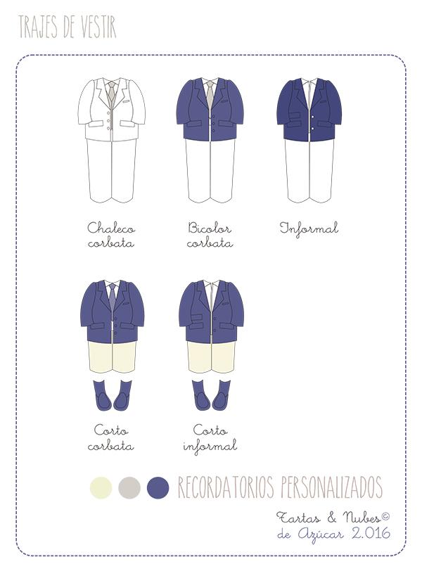 Trajes de vestir o informales 2016