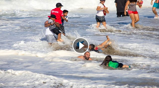 Wildest Wipeouts at the Puerto Escondido Challenge 2017