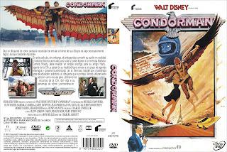 Caratula: Condorman (1981) - Walt Disney