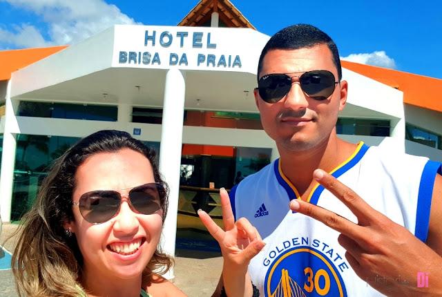 Fachada Hotel Brisa da Praia