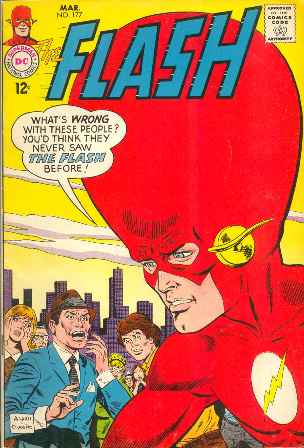 The Flash (1959) 177 Page 1